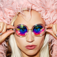 H0les Eyewear Luna Sunglasses Rainbow One