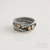 High-quality Engagement Rings 100% 925 Sterling Silver Linear CZ Stone Charm Ring European Style Fashion Jewelry