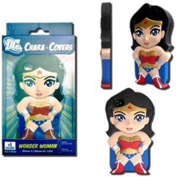 DC Comics Chara-Cover Series 1 iPhone Cover 4/4S - Wonder Woman