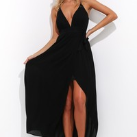 Day Dreaming Maxi Dress Black