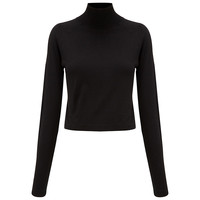 Buy Whistles Ella Cropped Turtle Neck Sweater | John Lewis