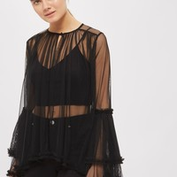 **Dove Top by Lace & Beads   Topshop