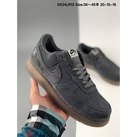 Nike Air Force1 Af1 Suede Couple Casual Trend Low-top Sneakers