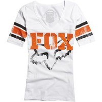 Fox Racing Women's Trick Football T-Shirt - Casual - Motorcycle Superstore