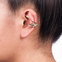 Gold Dove Ear Cuff