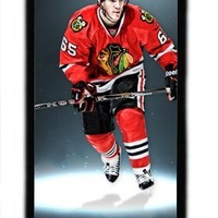 Sports Hockey iPhone 5C Cover - Diycaseoutlet Custom NHL Chicago Black Hawks Andrew Shaw Hard Shell Black Skin Case for iPhone 5C