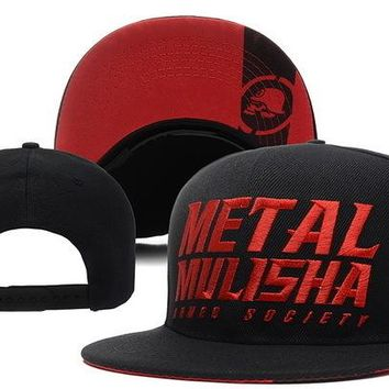 Perfect Metal Mulisha Snapback hats Women Men Embroidery Sports Sun Hat Baseball Cap Hat