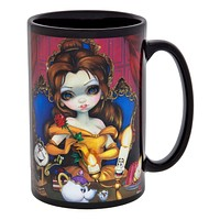 Disney WonderGround Gallery Ceramic Coffee Mug Belle Enchantment Griffith New