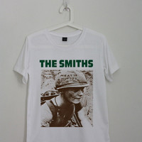 The Smiths Meat is Murder Shirt Morrissey T-Shirt Shirt TShirt UK Rock Band Shirt Gift Tops Tee Women Men Unisex