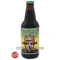 Filbert's Old Time Quality Draft Root Beer 12oz Glass Bottle