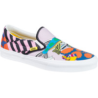 Vans Classic Slip-On The Beatles Limited Edition Skate Shoe - Men's (The Beatles) Sea Of Monsters,