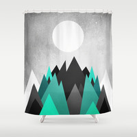 Cold Planet Shower Curtain by Elisabeth Fredriksson | Society6
