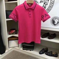 KENZO 2018 the latest version of the original single men's short sleeve lapel T-shirt, super type of a single product, very elements of style 007