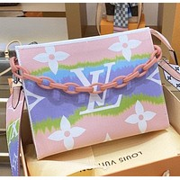 LV New fashion monogram leather shoulder bag women crossbody bag cosmetic bag handbag