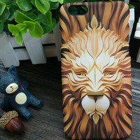 3D So Cool Luminous Lion Case Cover for iPhone 5s 6 6s Plus Gift 3
