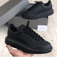 Alexander McQueen classic platform mens and womens casual shoes-4