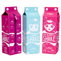 Milk Carton Shakes Pencil Case