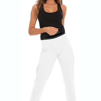 Women's Fleece Jogging Pants w/  Band