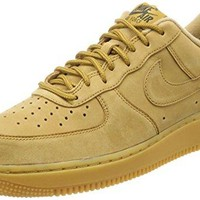 NIKE Men Air Force 1 '07 Wb (flax/flax-gum light brown-outdoor green)