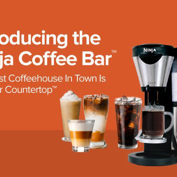 Exclusive Offer on the Ninja Coffee Bar™ Brewer | Official Site