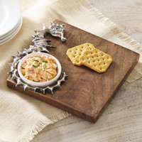 Mud Pie™ Tahiti 2 Piece Seahorse Cutting Board Set