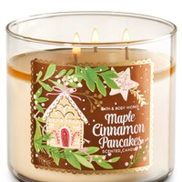 3-Wick Candle Maple Cinnamon Pancakes