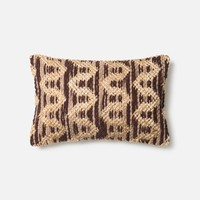 Loloi Brown / Beige Decorative Throw Pillow (P0338)