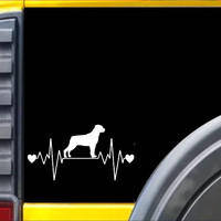 Rottweiler Lifeline Decal Sticker *I244*