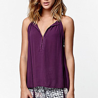 LA Hearts Notch Neck Tunic Tank Top at PacSun.com