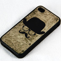 Invisible men iPhone 4 and iPhone 4S Case,Rubber Material Full Protection