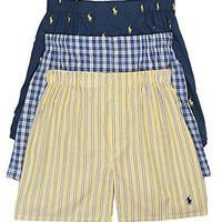 Classic Woven Boxer 3-Pack