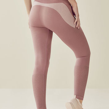Seamless High-Waisted Statement Legging