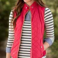 Just Chill'in Vest-Red