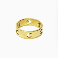 Moonlight Ring - Brass
