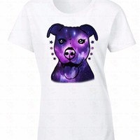Women'S Short Pitbull Galaxy