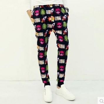 Men Print Men's Fashion Pants [6541730371]