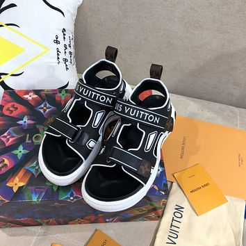 LV 2020 latest space sole muffin shoes