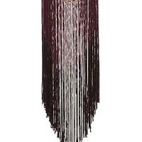 FRINGED STATEMENT NECKLACE