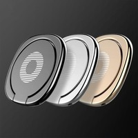 Mobile Phone Finger Ring Grip  Phone Stand 360 Degree Rotate Convenient Fashionable Bracket  Cell Phone Holder Party Gift
