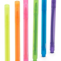 poppin Assorted Thin Highlighters - Pink (12-Pack)
