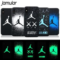 Luminous Jammin AJ iPhone Case