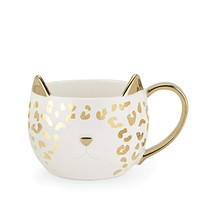 Chloe™ White Leopard Cat Mug