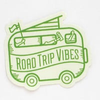Road Trip Vibes vinyl sticker