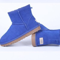 UGG Women male Fashion Wool Snow Boots-82