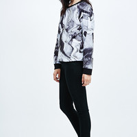 Systvm Marble Sweatshirt - Urban Outfitters