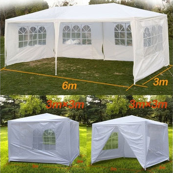 Segawe® 10' X 10'/10' x 20' Outdoor White Canopy Party Wedding Tent (We don't ship to AK/HI/PR/APO/FPO/PO BOX) [7983277511]