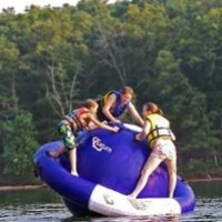 Amazon.com: Aviva 8-Foot Inflatable Saturn Water Toy: Sports & Outdoors