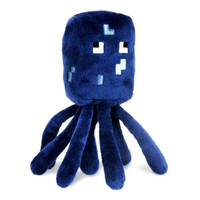 Minecraft 6'' Squid Plush Licensed NEW