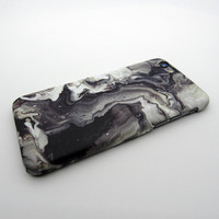 Fashion Black Marble Stone iPhone 7 7Plus / iPhone 6 6s Plus Case Cover Best  Gift