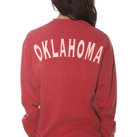state spirit long sleeve - Oklahoma [red]
